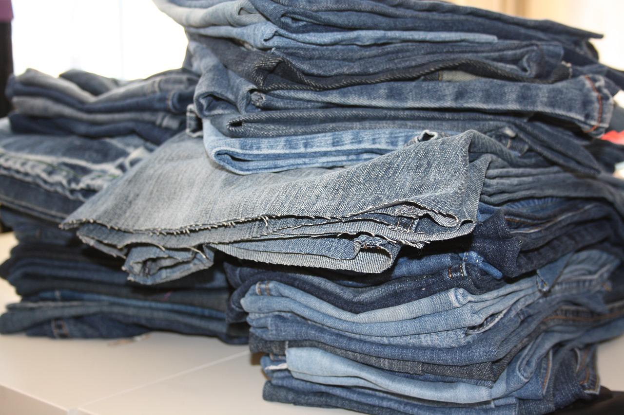 Meditationskissen - Upcycled Jeans