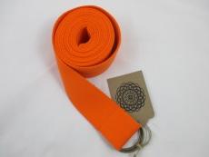 Yoga-Gurt (240 cm x 4 cm) in Ihrer Wunschfarbe