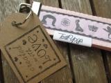 Schlüsselband Yoga Asana (rosa)